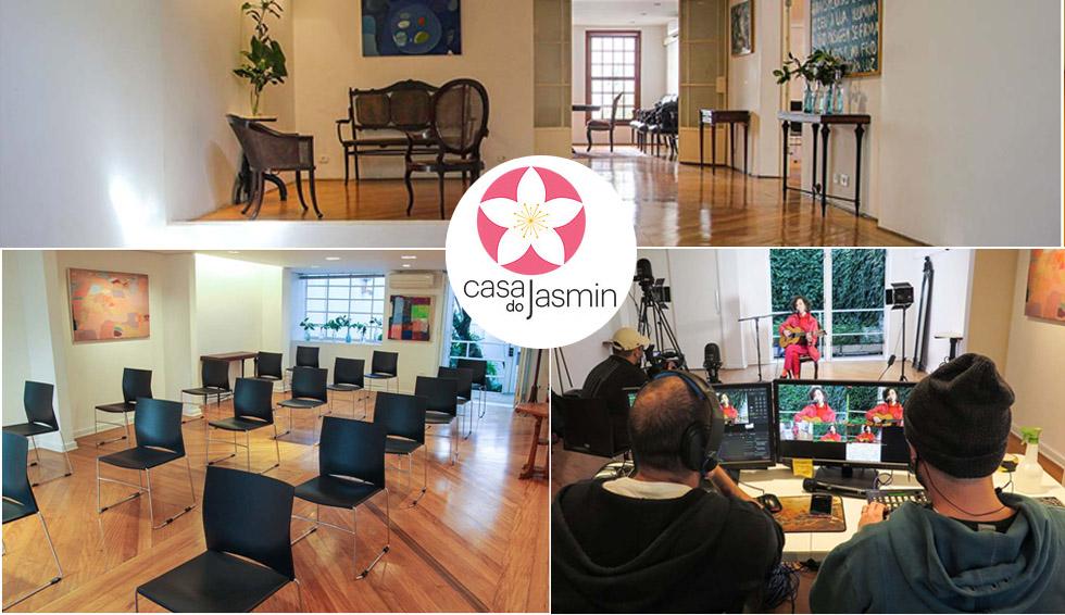 Casa do Jasmin: espaço de eventos adaptado ao pós-pandemia